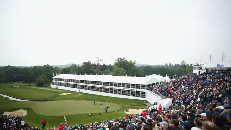 Nearly 21,000 fans packed into Wentworth for the opening round