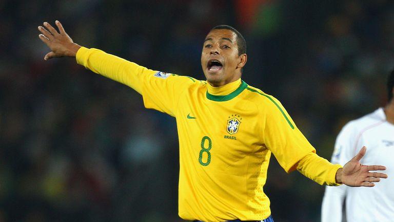 Gilberto Silva played 93 times for Brazil