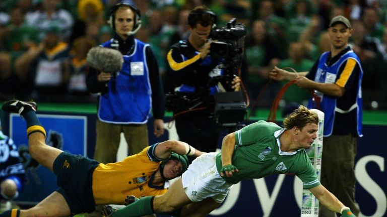 O'Driscoll's outstanding finish saw Ireland come steaming back, but just fall short