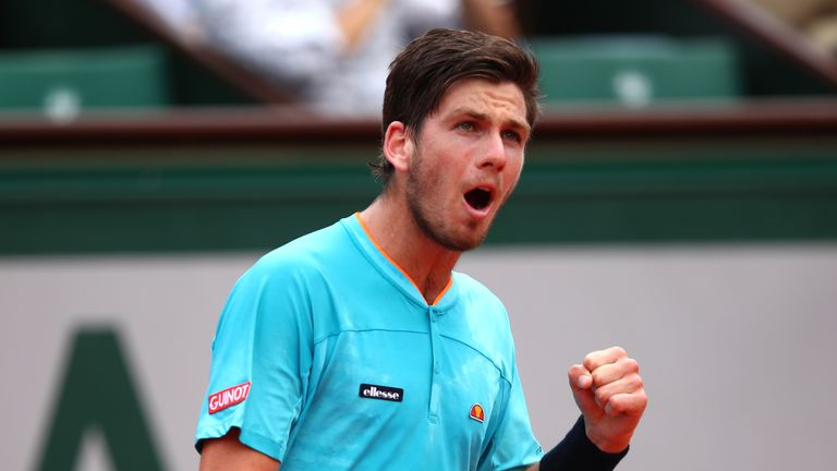 Cameron Norrie pulled off a huge win on his Davis Cup debut