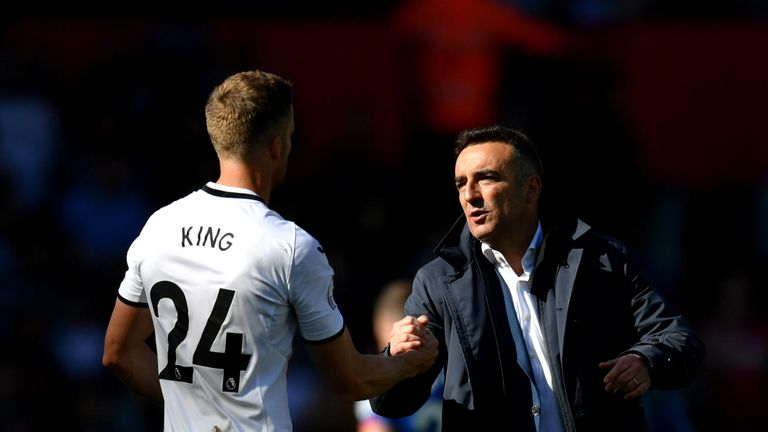 Carvalhal left Swansea after the club's relegation in May