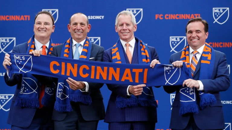 FC Cincinnati join the league in 2019