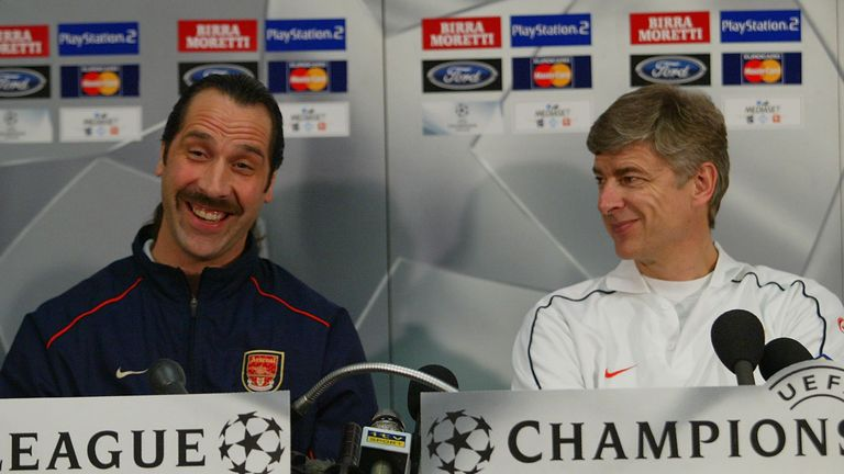 David Seaman worked under Arsene Wenger at Arsenal