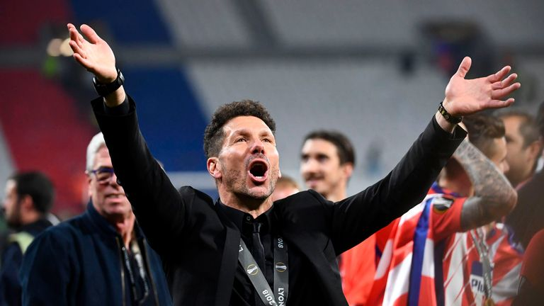 Costa is happy to be working with Atletico boss Diego Simeone once again