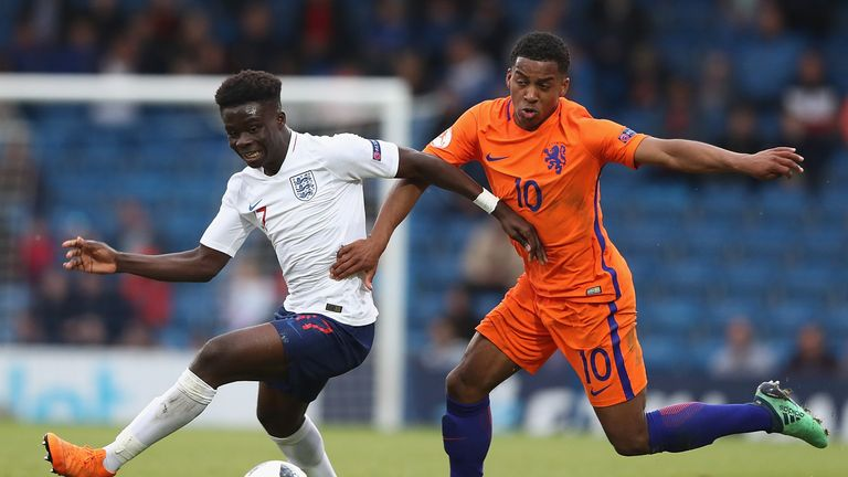 England and Holland played out a goalless draw at Chesterfield's Proact Stadium