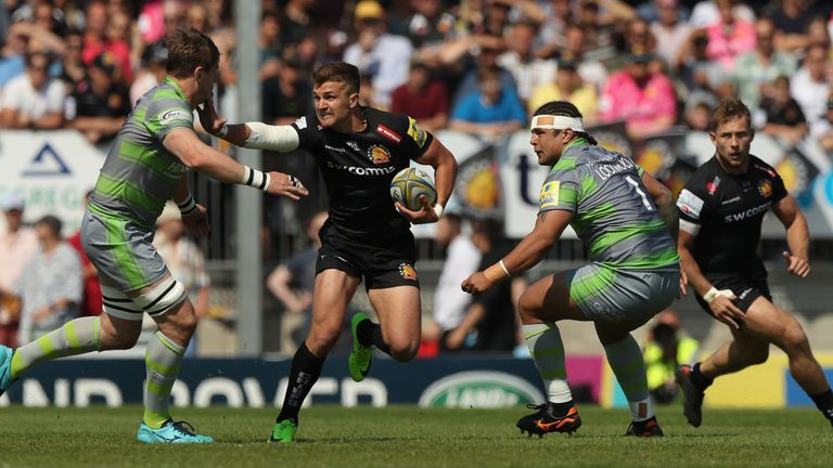 Exeter Chiefs will now face Saracens in the Premiership final on Saturday