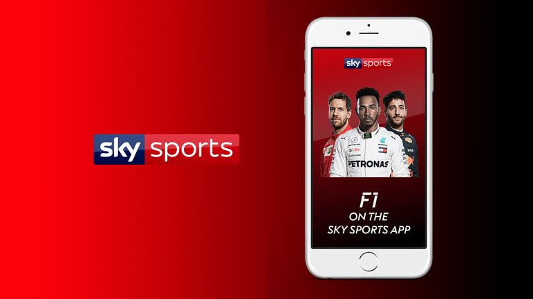 Sky Sports app: Make the most of F1