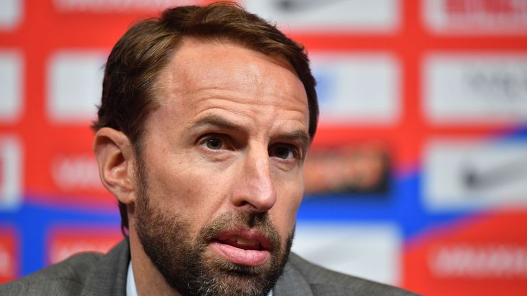 Gareth Southgate addressed the media on Thursday after Wednesday's squad announcement