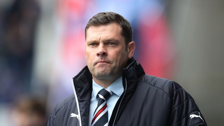 Neil Lennon says former Rangers manager Graeme Murty received 'scandalous' treatment by the club