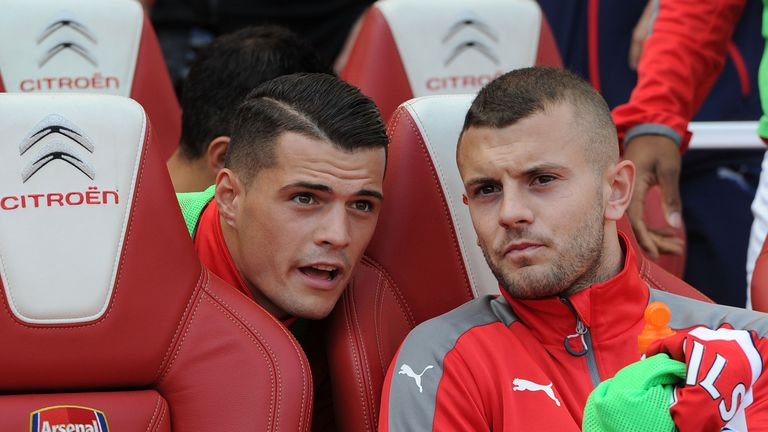 Jack Wilshere's future at Arsenal is in doubt