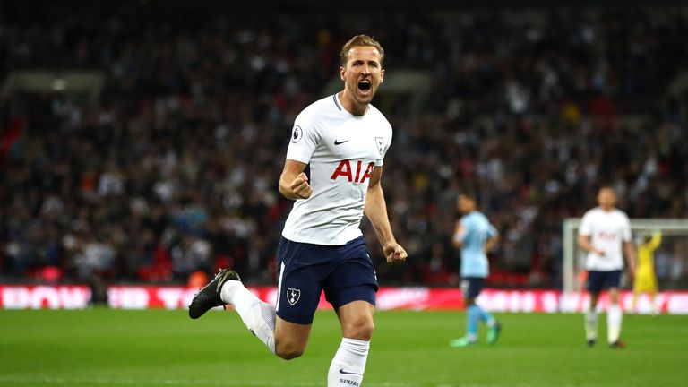 Harry Kane says Spurs want to be playing the best teams in the Champions League