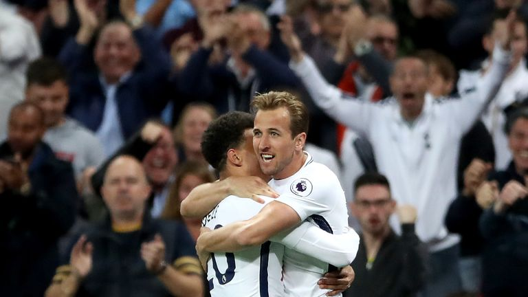Tottenham's England contingent had a break after the World Cup