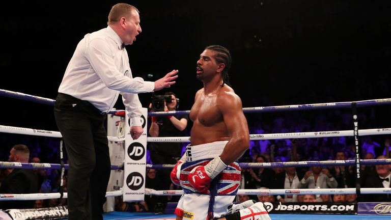 Froch says Khan reminds him of David Haye