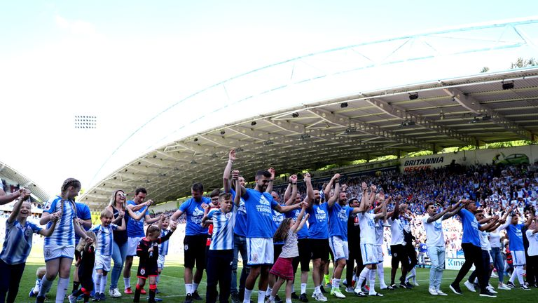Huddersfield avoided relegation in their first Premier League season