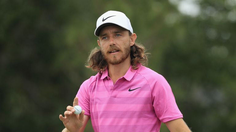 Tommy Fleetwood was the leading Englishman