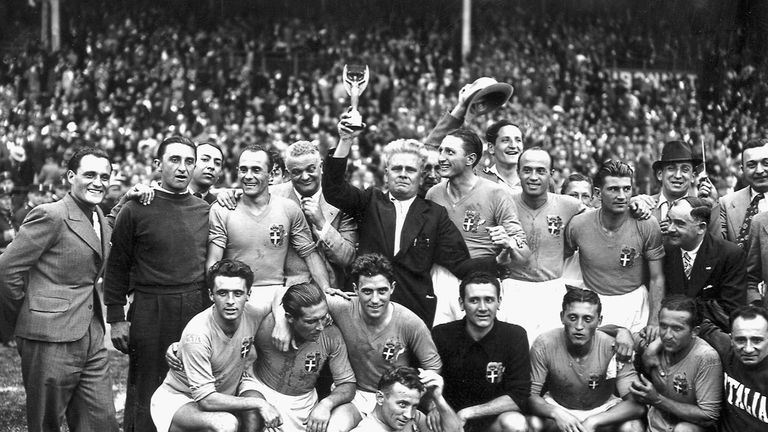 World Cups remembered: France 1938 | Football News | Sky Sports