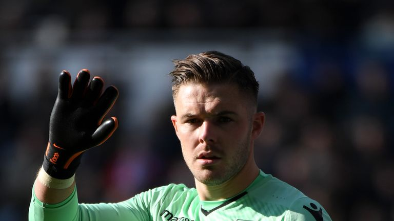 Chelsea could make a move for Jack Butland if Thibaut Courtois leaves the club this summer