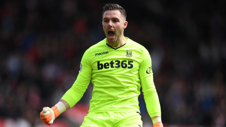 Jack Butland could be in line for a move to Liverpool this summer
