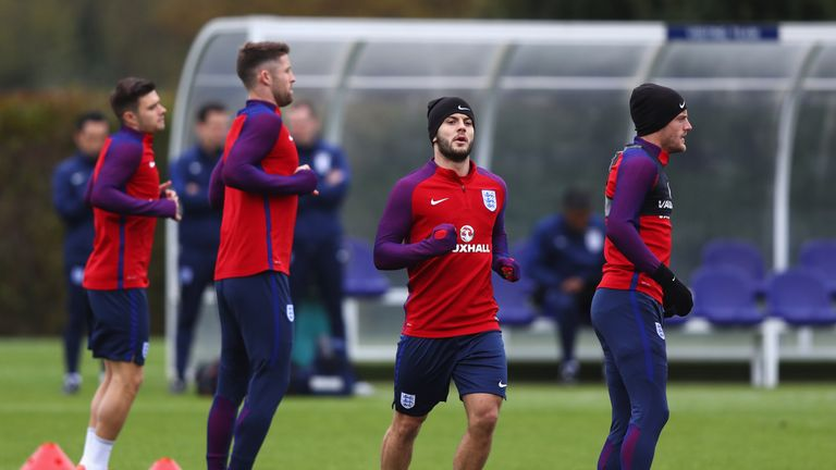 Southgate says Jack Wilshere fell just short when it came to selecting his midfielders