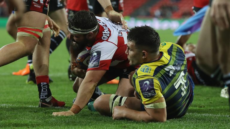 James Hanson's try at the back of a Gloucester maul turned the game on its head once more near the hour mark