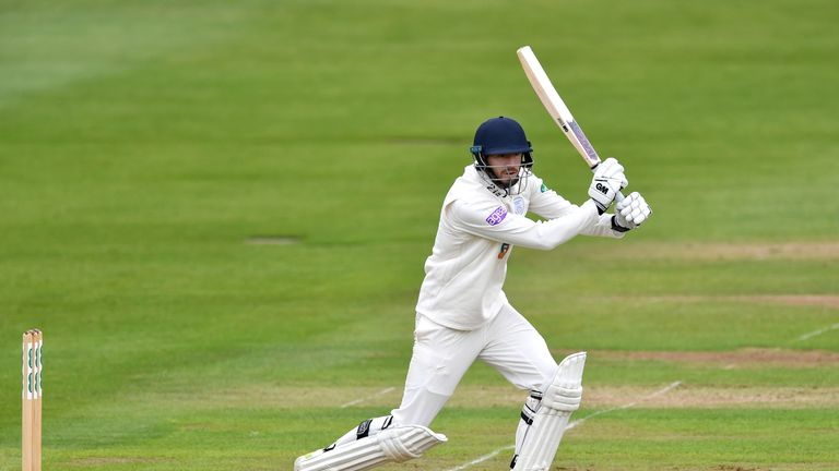James Vince hit his second half-century in the County Championship this season