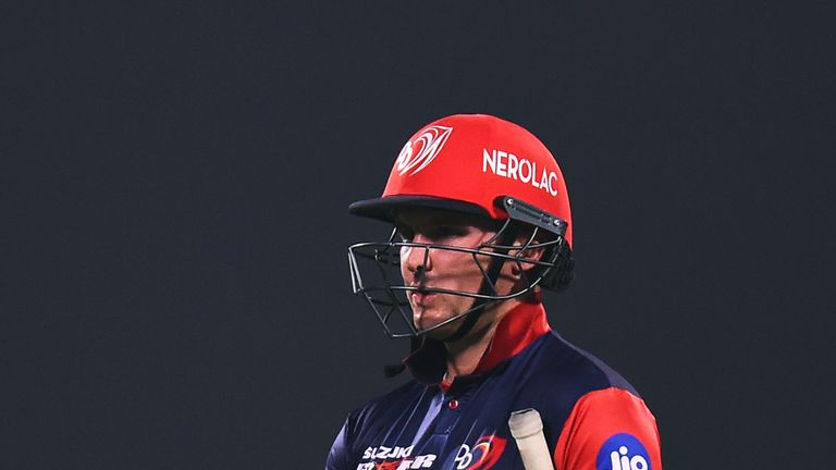 Jason Roy has struggled for runs since coming back into the Delhi team (Credit: AFP)