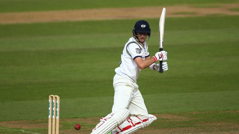 Joe Root was dismissed twice in a day for Yorkshire at The Ova;