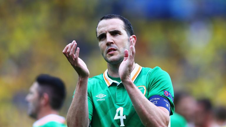 Republic of Ireland captain JohnO'Shea is retiring from international football