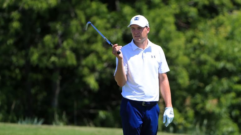 Jordan Spieth struggled on the greens at Trinity Forest