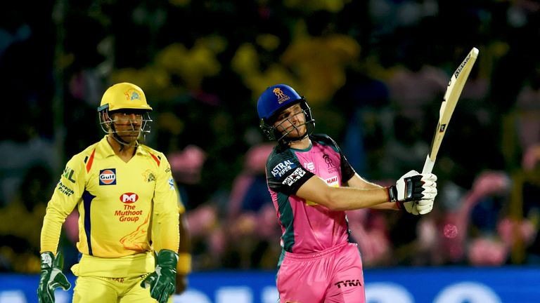 Jos Buttler 'mankaded' after fifty in Royals' IPL defeat to Kings XI