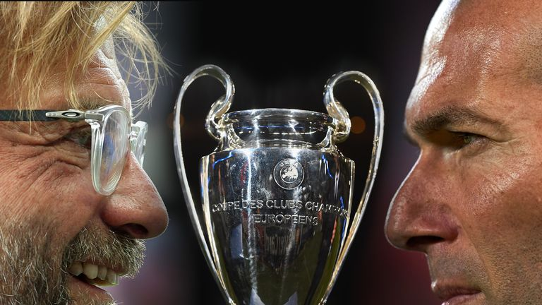 Klopp and Zidane go head to head in Kiev