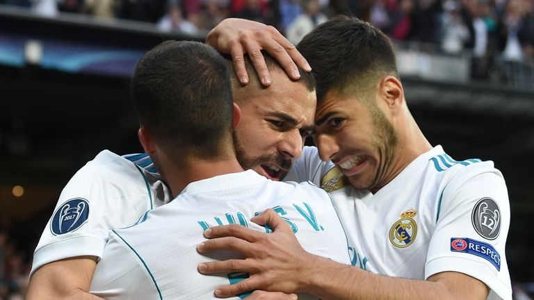 Real have reached their fourth Champions League final in five years