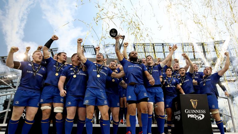 Leinster lifted the Guinness PRO14 trophy in May - can anyone stop them?