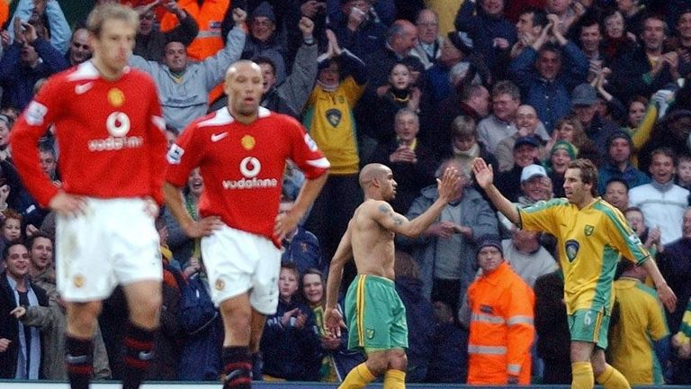 'It was a crazy, beautiful moment' - McKenzie scoring against Man Utd in April 2005