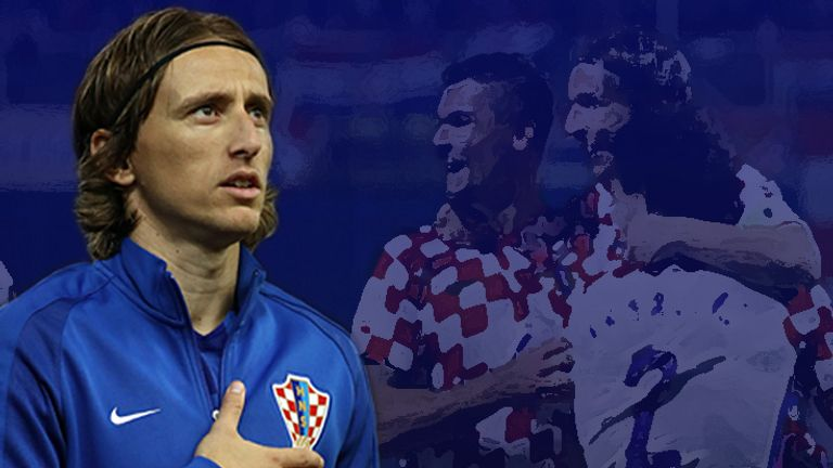 Luka Modric could be a Croatian hero on Sunday but things are not so simple