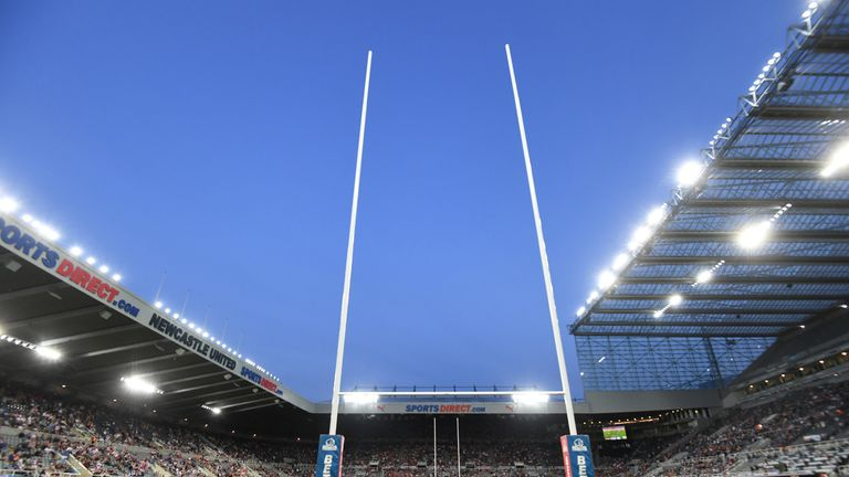 Super League's Magic Weekend is heading back to Newcastle in 2020