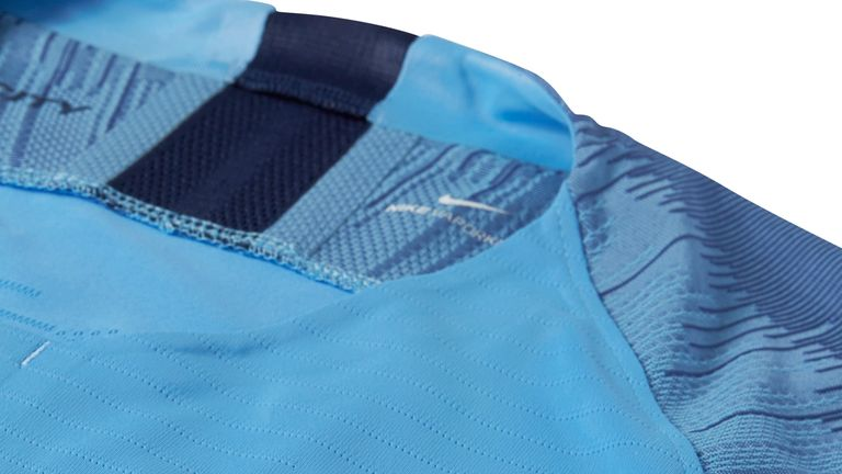 A closer look at Man City's new kit