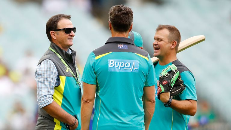 Mark Waugh (left) is to take up a role as a commentator