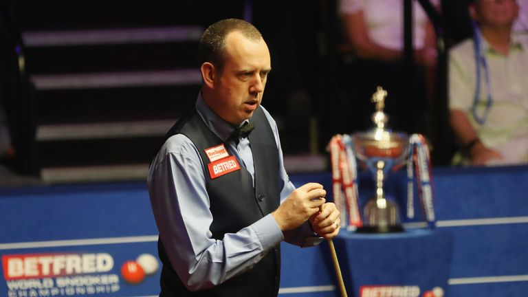 Mark Williams was crowned world champion in 2000 and 2003