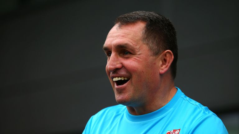 Martin Allen could steer Barnet to safety on the final day of the Sky Bet League Two season
