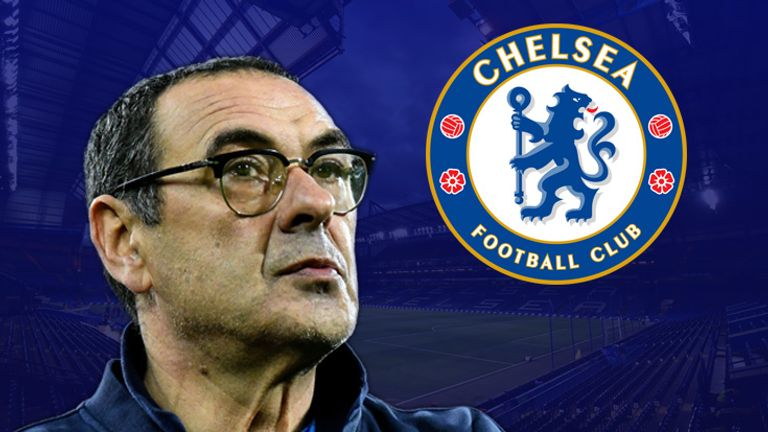 Maurizio Sarri has been confirmed as Chelsea's new manager