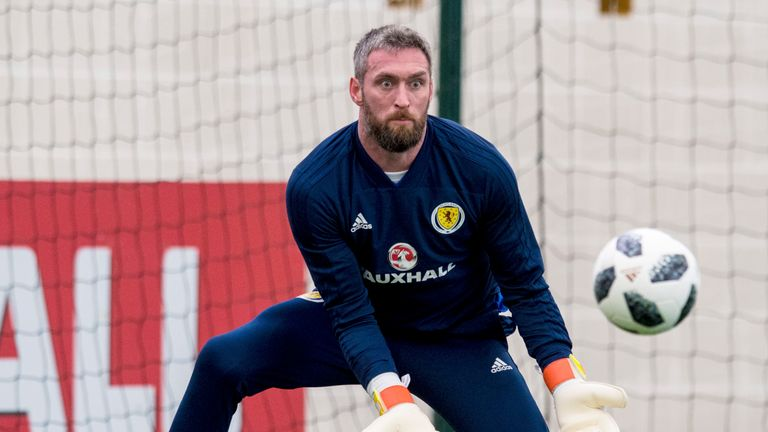 Allan McGregor is out of Scotland's squad to play Peru and Mexico