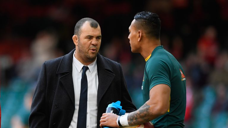 Wallabies coach Michael Cheika suggested in midweek that those upset by Folau's strong views should 'find another idol'