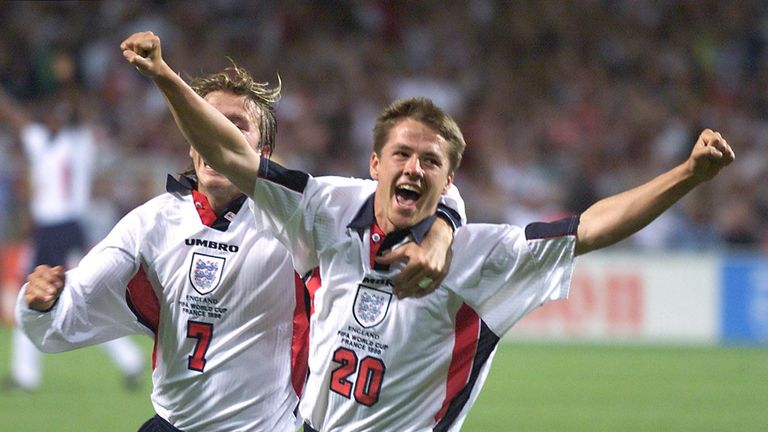 Michael Owen will lead an England team which includes, among others, Emile Heskey, David James and Luke Young