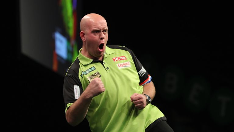 Michael van Gerwen is looking forward to the World Matchplay in Blackpool