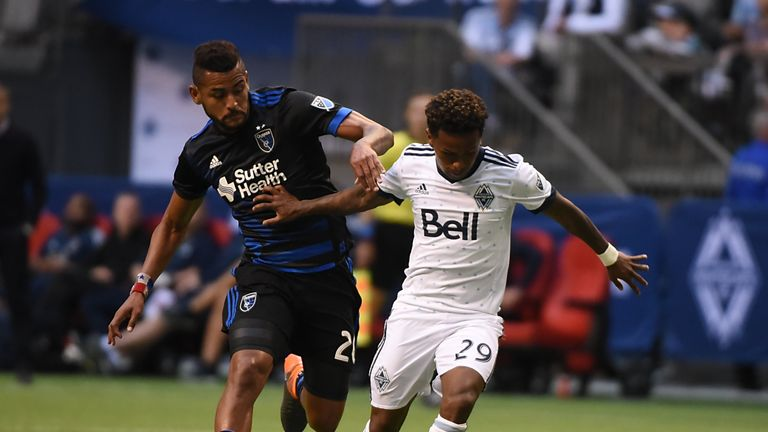 The Vancouver Whitecaps and the San Jose Earthquakes drew on Wednesday (Picture courtesy of USA Today/MLS Soccer)