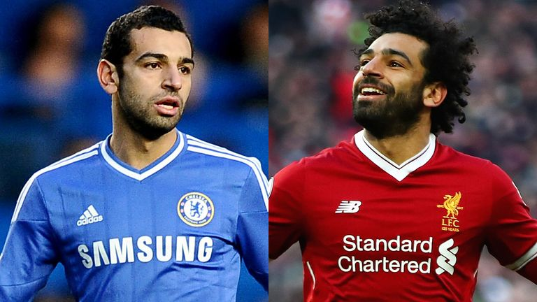Mohamed Salah had an unsuccessful spell at Chelsea
