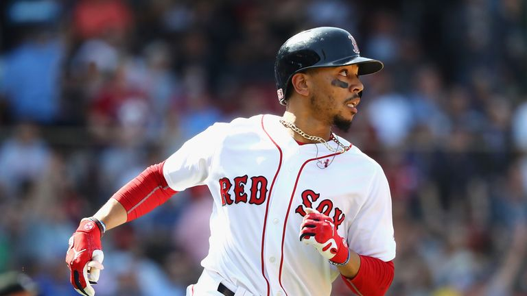 Boston Red Sox outfielder Mookie Betts is one of the MLB stars who is likely to be in action in London