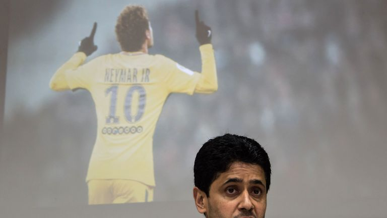 Nasser Al-Khelaifi says he does not expect the club to punished by UEFA over FFP