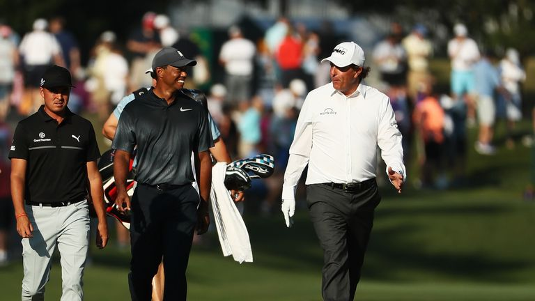 Woods and Mickelson began arranging the showdown earlier this year